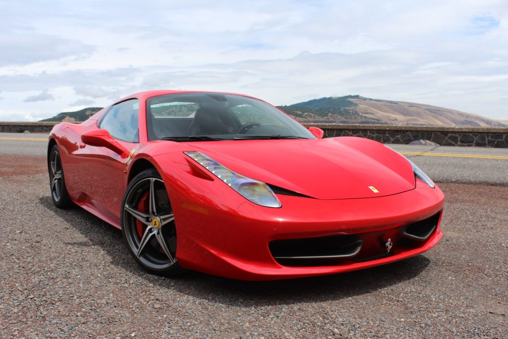 ferrari, car hire, car rental, luxuryseventyseven.com